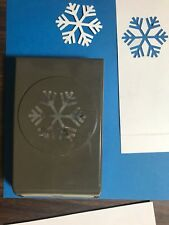 "Stampin Up Snowflake Punch ""Retired"" Lock-down Flat Storage"