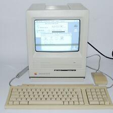 Apple Macintosh SE/30 M5119 UNYELLOWED with Keyboard+Mouse - tested+working Mac!
