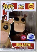 Funko Pop Bullseye Flocked #520 Toy Story Disney Exclusive Brand New IN HAND!