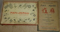 Vintage Chad Valley Mahjong Set with guide book