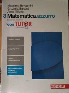 Libri usati per il scuola superiore: -matematica azzurro3 €13.