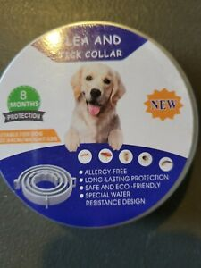 FLEA AND TICK COLLAR 8 MONTH PROTECTION FOR Large DOGS 64CM New