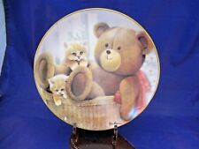 "Danbury Mint Collector'S Plate - ""A Stuffed Friend"" By Ruane Manning"