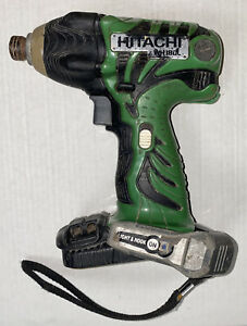157 Hitachi 18V Impact Driver WR18DL Skin Only In Great Working Order Free Post