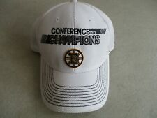 WORN BOSTON BRUINS CONFERENCE CHAMPIONS 2013 STANLEY CUP ONE SIZE FIT MOST CAP