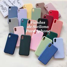 Funda de silicona para iPhone 7/8 iPhone 7/8 Plus