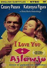 Ajlawju / I Love You (DVD) NTSC Cezary Pazura, Katarzyna Figura POLISH POLSKI