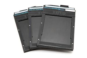 Excellent Set of Toyo 4x5 Cut Film Holders (Set of 3) #33003