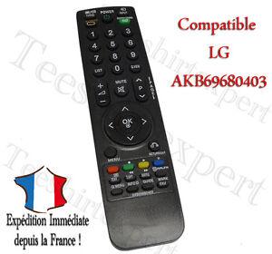 Universelle LG AKB69680403 Telecommande Controleur Remote Pour LG LED TV Smart