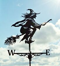 Witch Metal Weathervane Roof Mount Weather Vane Hag Fury Virago