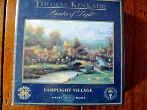 Thomas Kinkade - Lamplight Village - 108 Piece Puzzle - New & Sealed