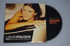 Laura Pausini con José El Francés – Dime. CD-SINGLE Promo