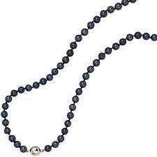 Halsketten und Anhänger aus Sterlingsilber mit Akoyaperlen