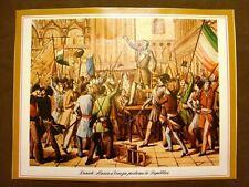 Daniele Manin a Venezia nel 1848 che proclama la Repubblica