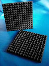 "Soundproofing 1"" Acoustic Studio Pyramid Foam(REMNANT)C (40PK) 12x12"