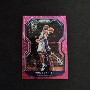 Vince Carter NBA Cards 2020-21 Panini Prizm Pink Disco /50 Toronto Raptos