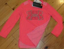Under Armour Threadborne l//s top NWT UPICK girls/' S M pink purple front//back