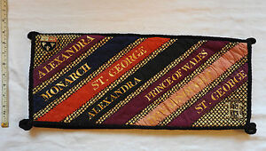 Military Prince Of Wales Dreadnought Eaton Case Pennant Naval Ceremonial (3251