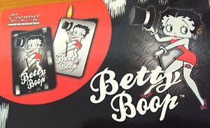Feuerzeug Betty Boop , diverse Motive, mit Samttasche, nachfüllbar, einstellbar!