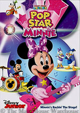 Disney Junior Musical Mickey Mouse Clubhouse Pop Star Minnie Kids Music Show DVD
