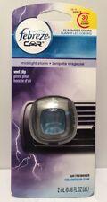 Febreze Car Vent Clip - MIDNIGHT STORN SCENT - Single Pack Purple