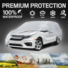 Motor Trend All Season 6-Layer Van & SUV Car Cover for Vehicles up to 210""