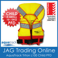 AQUATRACK TRITON CHILD XS 10-15KG L100 PFD LIFE JACKET -Infant Toddler Kids Vest