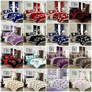 New Frilled Duvet Set Quilt Cover Pillow Case Bedding set   SALE CLEARANCE SALE