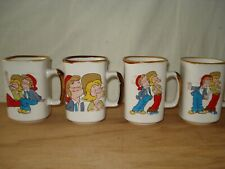 More details for 4 retro 1981 - the bisto kids mugs gravy - rhm foods ltd.