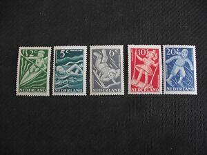 Netherlands 1948   Child Welfare.  MLH set.