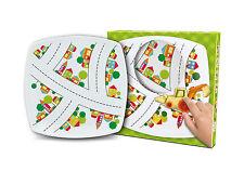 """""""Choo Choo Treno"""" DIVERTENTE e colorato in Ceramica Piastra Quadrata Per Bambini 18 cm / 7 REGALO"""