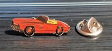 MERCEDES BENZ PIN 300SL W198 ROSSO Cabrio - MISURE 28x10mm