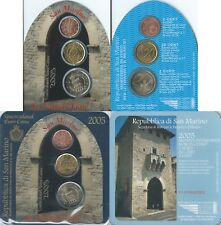 San Marino 2 € Kursmünzen 2 Euro 20 & 2 Cents 2005 St. Francis' Gate Münzblister