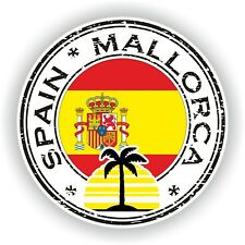 Spain Mallorca  Stamp Seal Sticker Decal for Car Truck Laptop Tablet Fridge