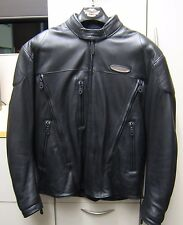 Harley Davidson Men's Leather Armored FXRG Jacket - Size Medium - 98508-99VM