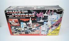 Metroplex MIB 100% Complete C 1985 Vintage Action Figure G1 Transformers