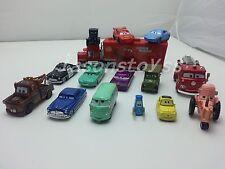 Mattel Disney Pixar Cars Mcqueen & Mater & Sally & Mack & Sheriff And Friends