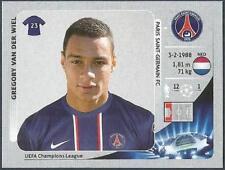PANINI UEFA CHAMPIONS LEAGUE 2012-13- #050-PARIS ST-GERMAIN-GREGORY VAN DER WIEL