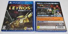 Assault Suit Leynos PS4 remake of Mega Drive classic Valken PlayStation 4 JPN