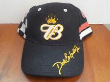 NWOT DALE EARNHARDT JR #8 Adjustable Hat Budweiser Racing Black w/ checkers