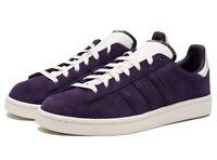 ADIDAS Originals Campus mens shoes trainers, BD7469 legend purple suede