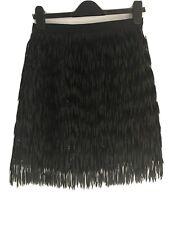 Next Party Skirt Black 8 Sequin Tassels