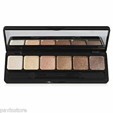 elf Cosmetics Prism Eyeshadow Makeup Palette Cream Powder Mirror Set Naked Color