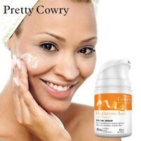 Vitamin C Orange Anti-aging Hyaluronic Acid Liquid Whitening Serum Facial Cream