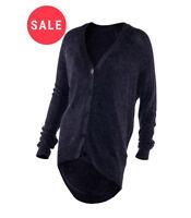 Dorothy Perkins Angora Cardigan Button Through Knitted Womens long line cardigan