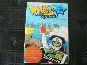 DUTCH COMIC WHAM SPECIAL ISSUE GRATIS ARIEL, MICHEL VAILLANT COVER,DAN COOPER