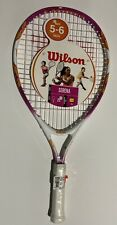 New With Tag Serena Williams Youth Tennis Racket by Wilson. For Ages 5-6   21 In