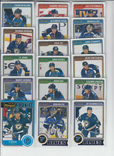 14/15 OPC St. Louis Blues Team Set w/RC - Rattie Morrow Pietrangelo Miller Roy +