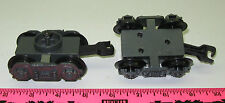 Lionel new G-Gauge 2 Trucks gray