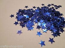 100 Sterne Blau Streuelemente Streudeko Kartengestaltung Basteln ca.6mm